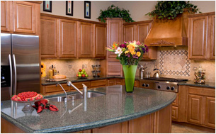Viatera Surfaced Kitchen Counters